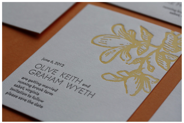 Hop brook lake wedding invitations