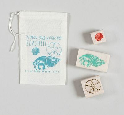 YOW_seashell stamp set