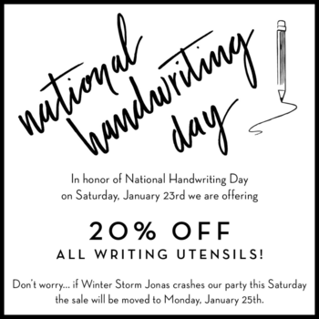 NationalHandwritingDay_Jan2016