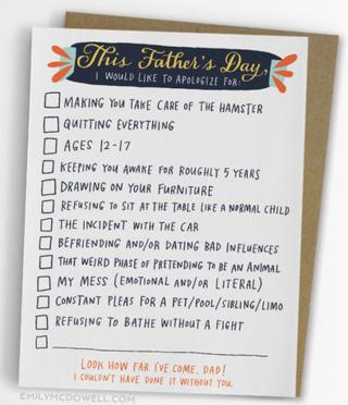 EMCD checklist dad