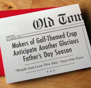 OTM golf themed crap