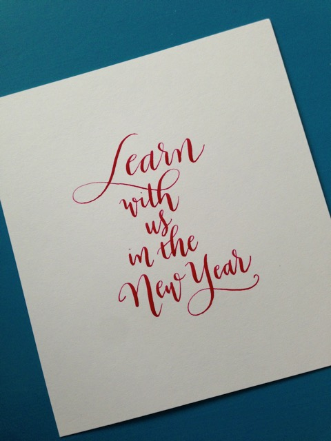 Meant To Be Calligraphy