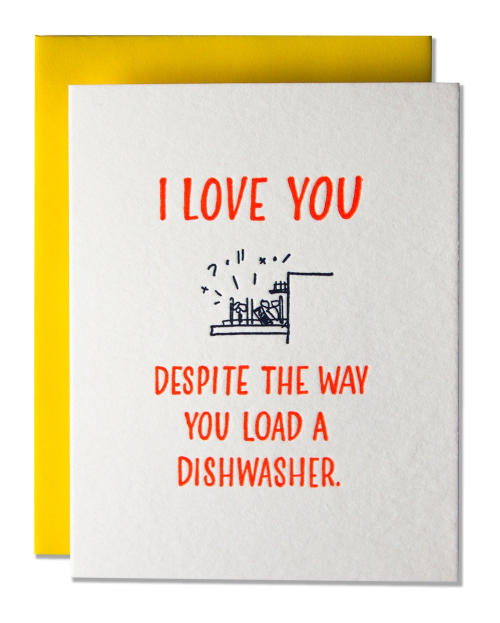 Ladyfinger press dishwasher